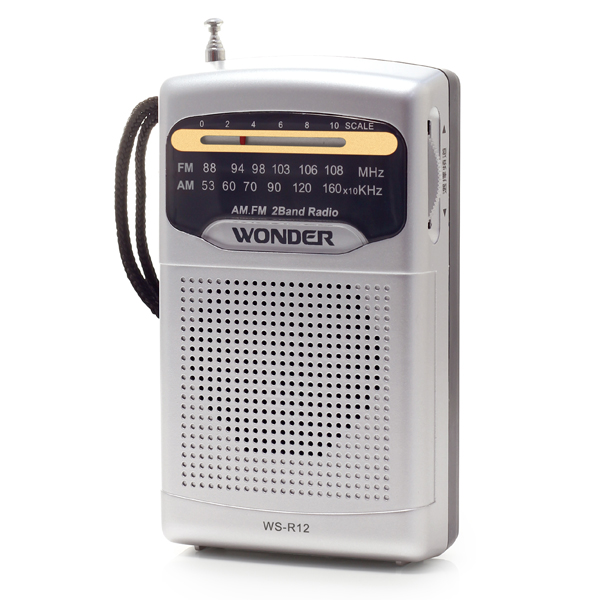 【WONDER旺德】AM/FM收音機 (WS-R12)