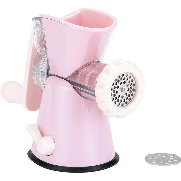 【KAI貝印】手動絞肉機-粉紅 (DH-6119)