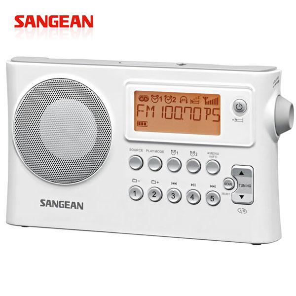 【SANGEAN山進】二波段USB數位式時鐘收音機 (PR-D14USB)