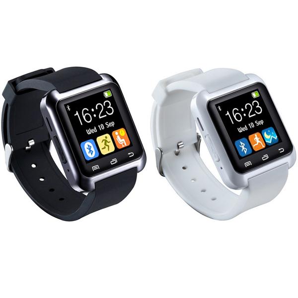 【iFace】藍芽觸控智慧手錶-促銷2入組(兩色任選)加贈原廠保護貼 (Q1C)