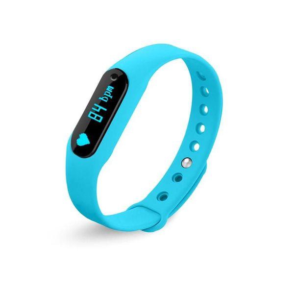 【iFace】Q2天天運動心率手環(天生不怕水系列)-藍色 (Q2-BL)
