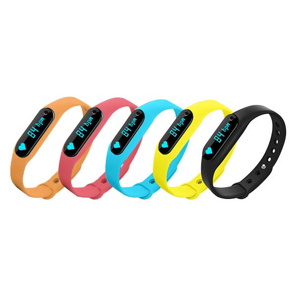 【iFace】Q2天天運動心率手環-情侶對錶2入組(5色任選)