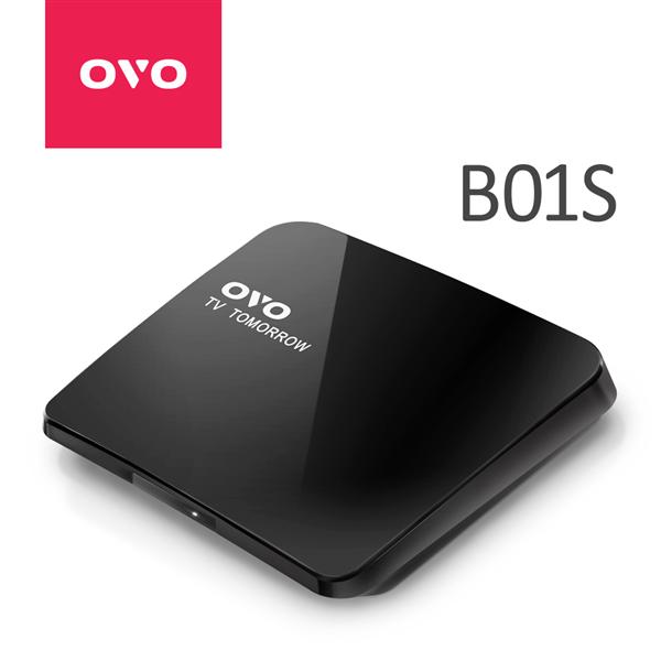 OVO 電視盒 4K升級版效能升級隱藏版 (OVO-B01S