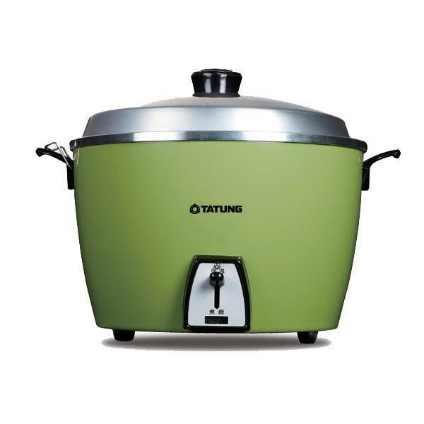 【TATUNG大同】15人份電鍋-不鏽鋼內鍋(翠綠色)(TAC-15L-SG)
