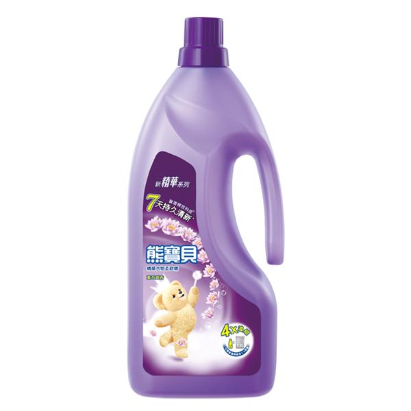 【熊寶貝】精華薰衣甜香柔軟精-1.8L (4710094055980)