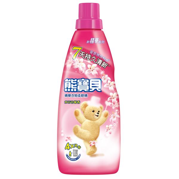 【熊寶貝】精華水百合馨香衣物柔軟精-800ml (4710094056000)