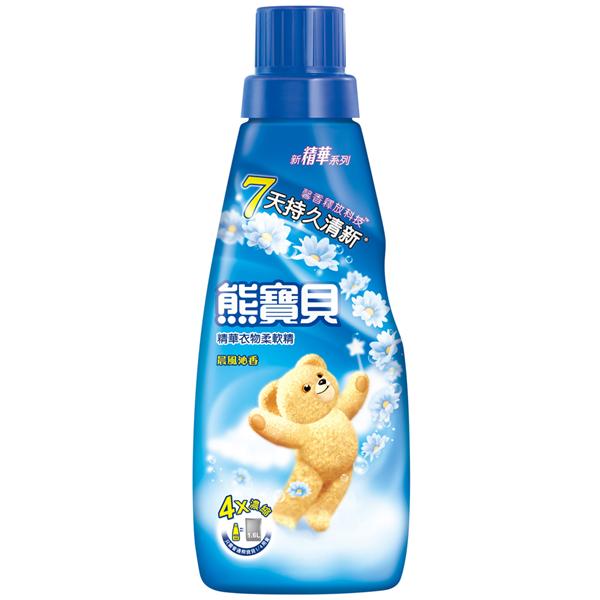 【熊寶貝】精華晨風沁香衣物柔軟精-400ml (4710094056024)