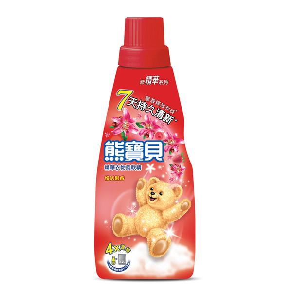 【熊寶貝】精華悦活果香衣物柔軟精-800ml (4710094064906)
