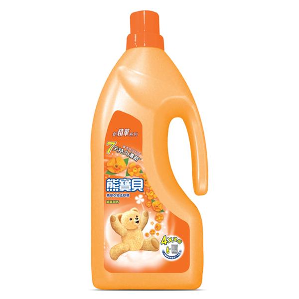 【熊寶貝】精華絢麗甜香柔軟精-1.8L (4710094064913)