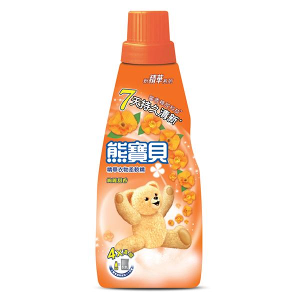 【熊寶貝】精華絢麗甜香柔軟精-800ml (4710094064920)