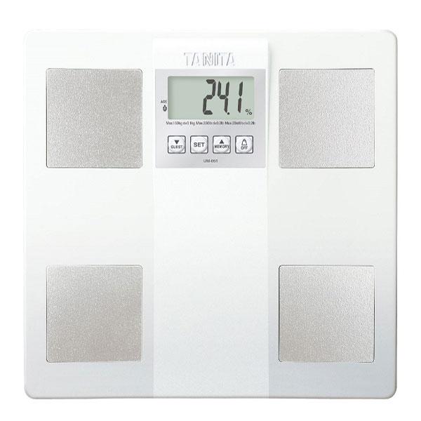 ★本月主打★【TANITA】三合一體組成/體脂計(白色) (UM-051WH)