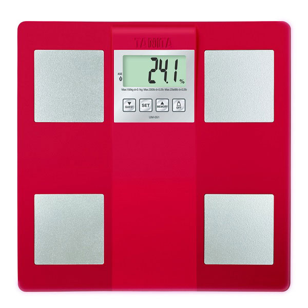 ★本月主打★【TANITA】三合一體組成/體脂計(紅色) (UM-051RD)