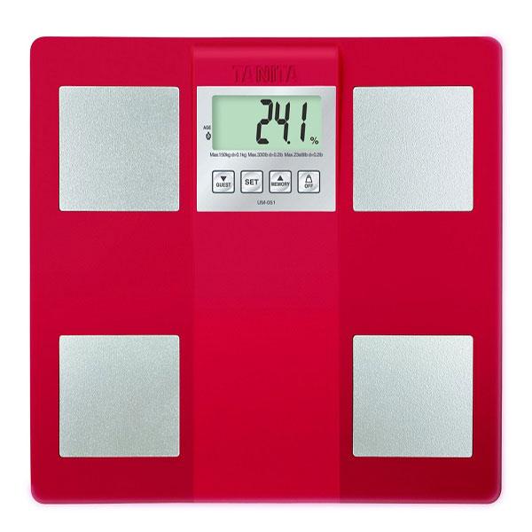 TANITA 三合一體組成/體脂計(紅色) (UM-051RD)