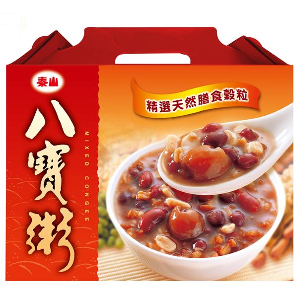 e同團購【泰山】八寶粥375g-12入禮盒 (71010001120)