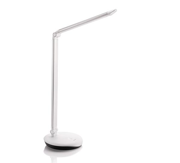 【飛利浦PHILIPS】LEVER酷恒LED檯燈(銀) (72007-S)