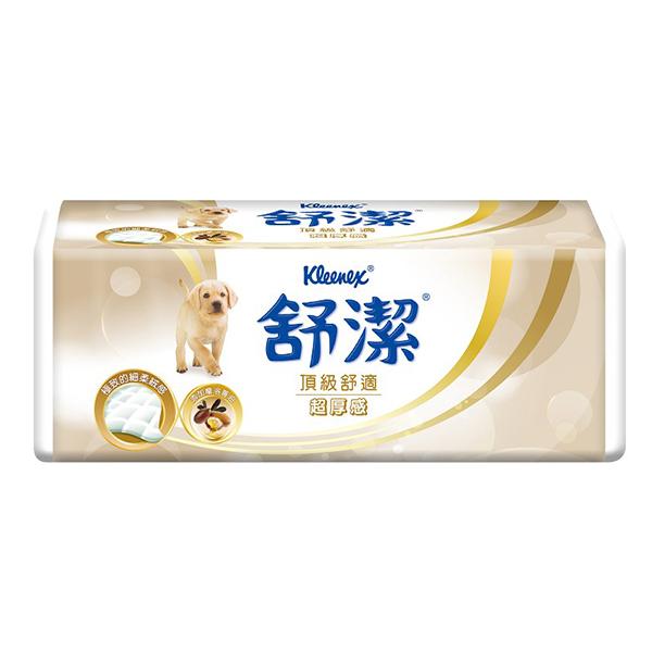 【舒潔】頂級舒適超厚感抽取式衛生紙 90抽X6包X12串/箱 (8911011151)