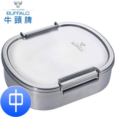 【牛頭牌】雅登不鏽鋼便當盒-中 (A02Z003)