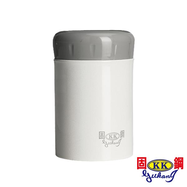 ★精選推薦★【固鋼】一體成型316不鏽鋼燜燒罐400mL-珍珠白(嬰幼兒專用) (ACC-400ML-WH)