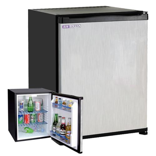 【ZANWA晶華】電動吸收式客房冰箱(鏡面鋼板前門) (CLT-42ST)