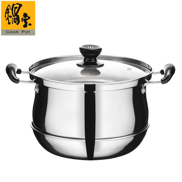 【鍋寶】不銹鋼節能再煮鍋4公升 (CP-6040)