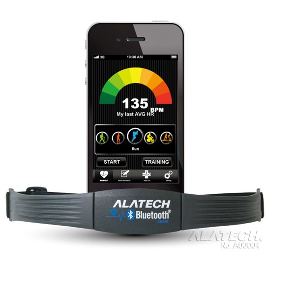 【ALATECH】iPhone專用-藍牙4.0無線心跳帶(黑色) (CS010BLE)