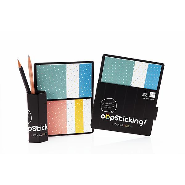 聖誕交換禮物【設計點】Dotfuns-oopsticking日雜系便利貼-小點點版 (E01000204)