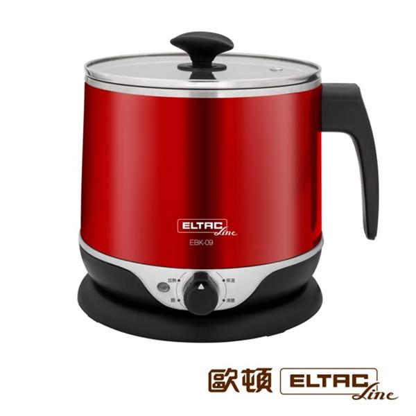 【歐頓ELTAC】2.2公升雙層防燙不鏽鋼美食鍋 (EBK-09)