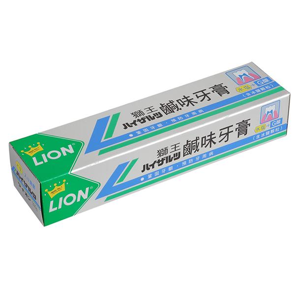 【LION獅王】鹹味牙膏-200g (ECC000004)
