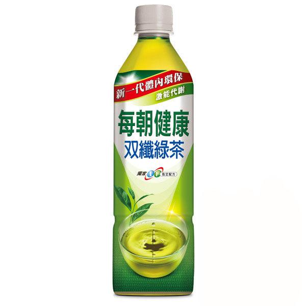【每朝健康】雙纖綠茶650mlX24入/箱購 (ECC000237)