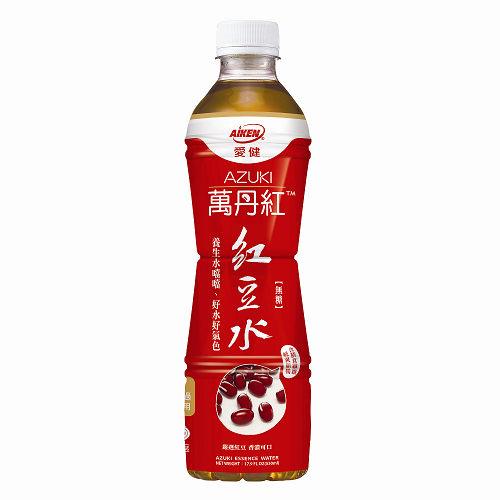 【愛健】萬丹紅紅豆水530mlx24瓶/箱 (ECC000239)