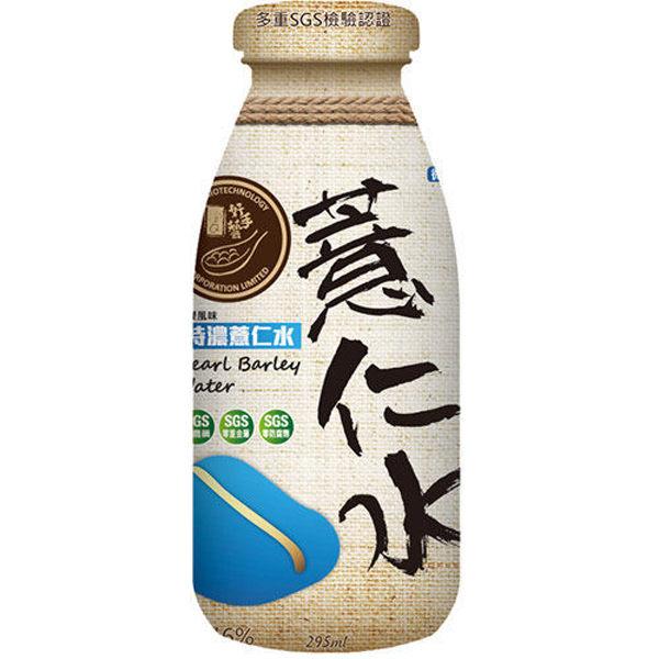 【纖Q好手藝】特濃薏仁瓶裝水295mlX6瓶/盒-檸檬風味(3盒) (ECC000242)