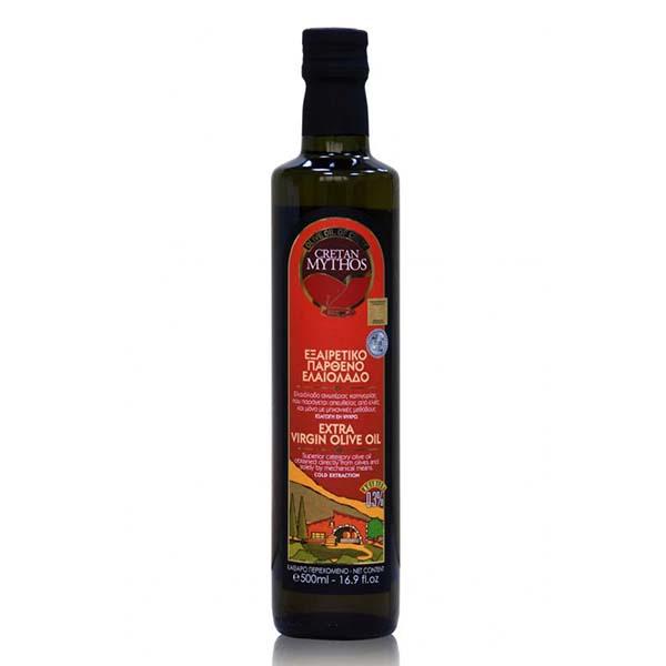 【克里特】希臘頂級初榨冷壓橄欖油Extra Virgin 等級 (500ml)
