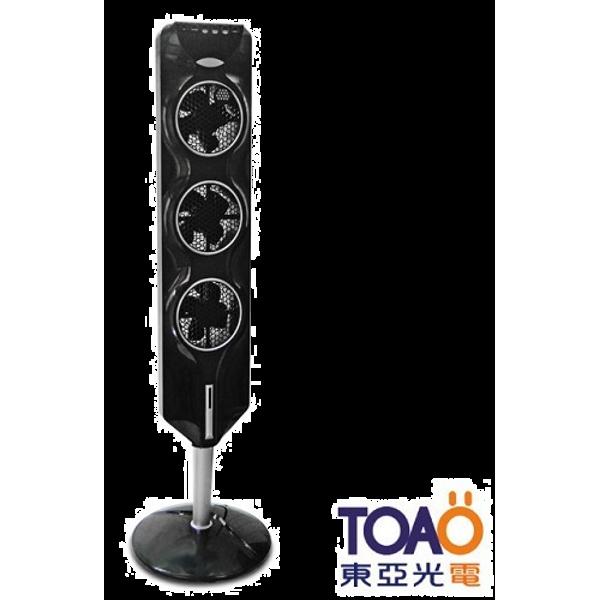 【愛水屋】TOAO 超薄型智慧觸控電風/循環立扇-黑 (EFA001-90A1B)