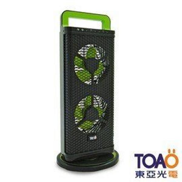 【愛水屋】TOAO 超薄迷你型智慧觸控電風/循環立扇-黑 (EFA002-90A1B)