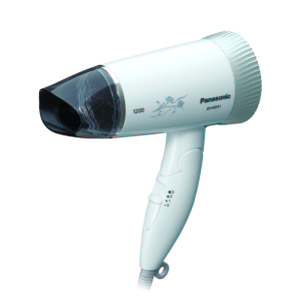 Panasonic國際牌 超靜音吹風機(銀) (EH-ND51-S)