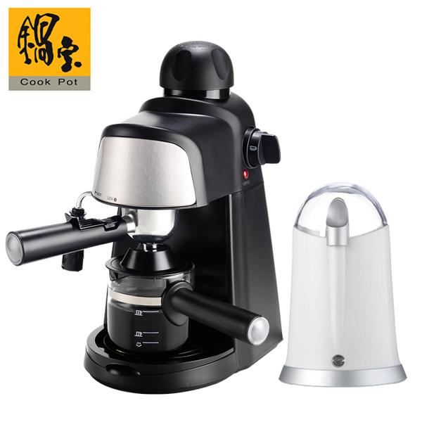 【鍋寶】全自動咖啡機贈磨豆機 (EO-CF808MA8600)