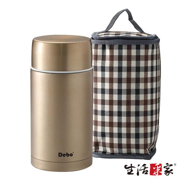 【生活采家】DEBO系列不鏽鋼1.2公升保溫悶燒罐(含提帶) (F05017026)