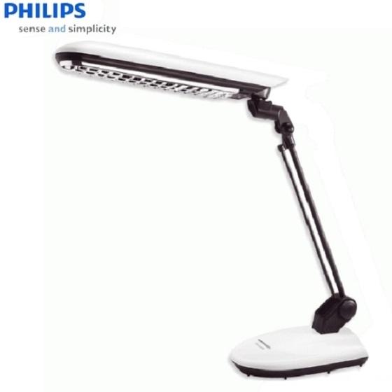 【飛利浦PHILIPS】極光防眩光檯燈(白) (FTN629)