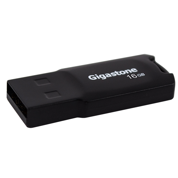 【Gigastone】U211 輕巧隨身碟-16GB-黑 (GST-U211-16GU2)