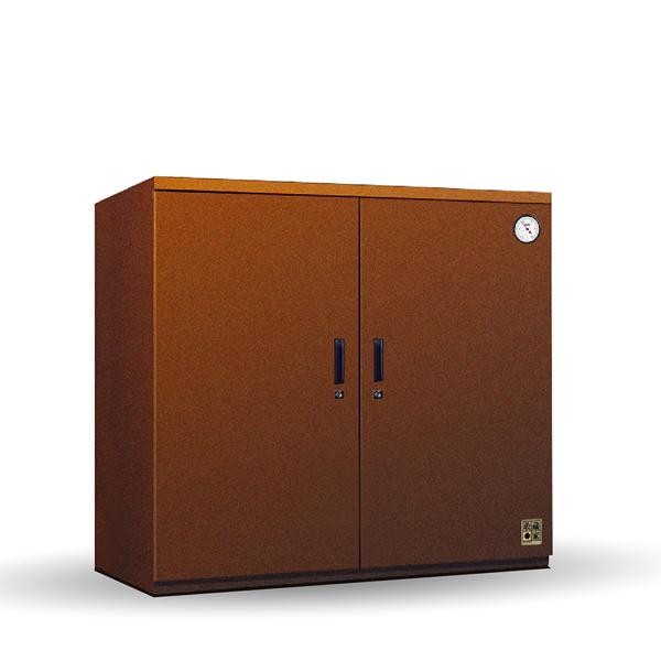 【收藏家】居家百寶系列全自動電子防潮箱-咖啡色 (HD-400M)