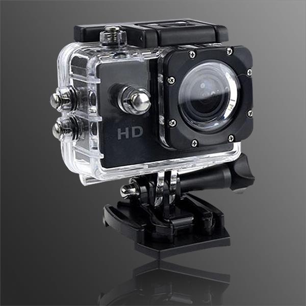 【長江】Gmate HD1廣角微型運動防水型攝影機(可當行車記錄器)-黑色 (HD1)