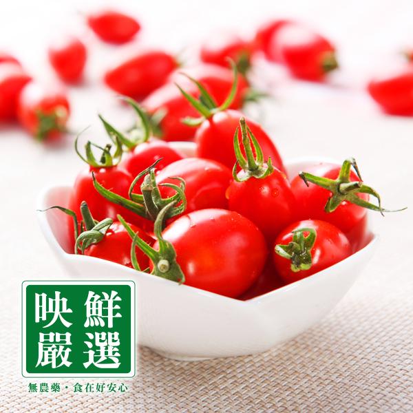 ☆非產季☆預計年底開放訂購【映鮮嚴選】無農藥玉女番茄(8台斤) (HF-16C0001-2)
