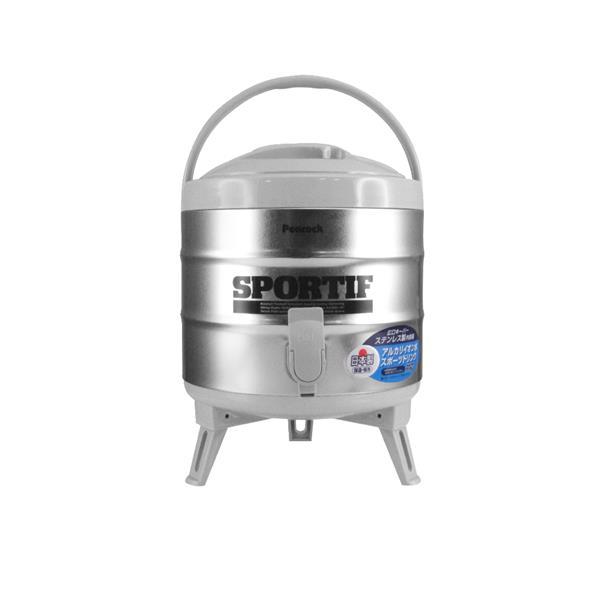 日本Peacock 日本孔雀牌不鏽鋼保溫.保冷茶桶-小(6.1L)日本製 (INS-60)