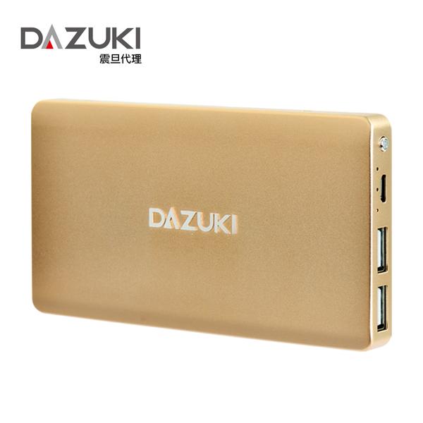 DASUKI 鋰聚合物電芯行動電源9800MAH(3色) (IS-103)