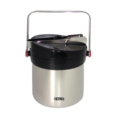 【THERMOS膳魔師】1.3L不鏽鋼真空保冰桶 (JIN-1300)