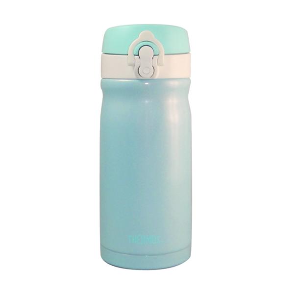 【THERMOS膳魔師】350ml不鏽鋼真空彈蓋隨手保溫杯瓶 (JMY-352MR)