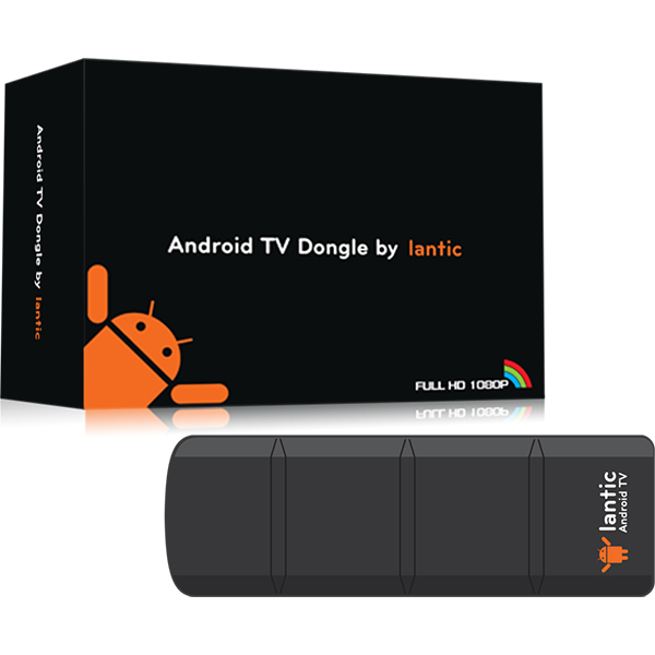 【Lantic喬帝】Android 智慧電視棒-彩虹奇機 (L001)