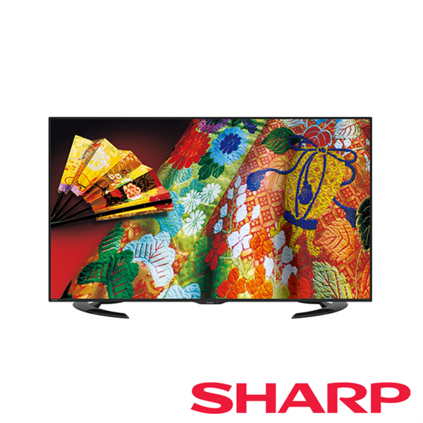 【夏普SHARP】65吋AQUOS超薄4K液晶電視 (LC-65U30T)