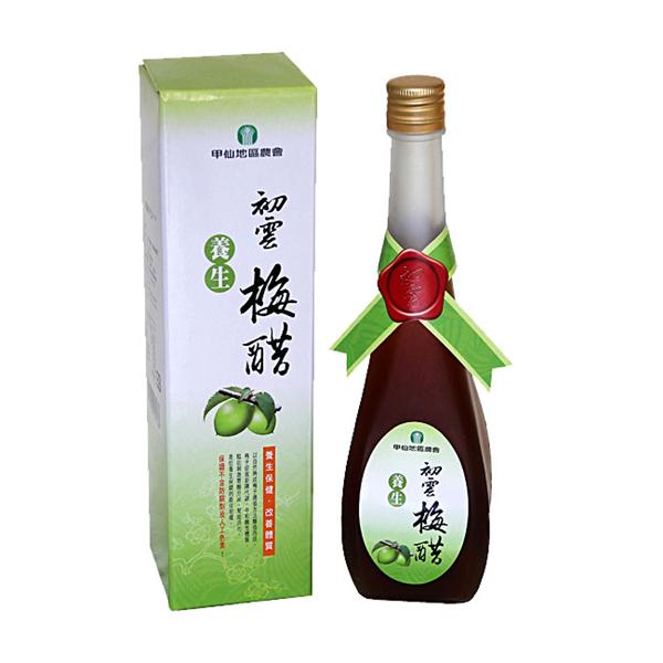【甲仙農會】養生梅醋(500ml) (MD1174056)