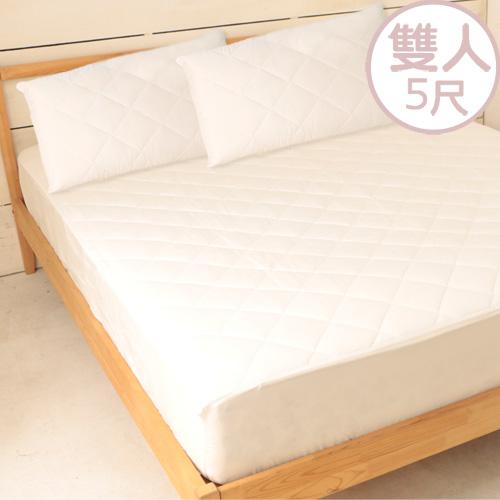 【床之戀】台灣製加高床包式保潔墊-雙人5尺 (MG0147M)